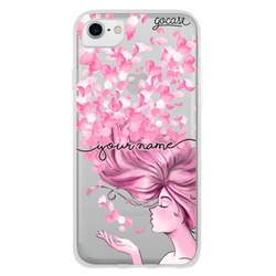 Petals in the Wind Handwritten Phone Case
