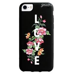 Capinha para celular Color Black - Amor em Flor