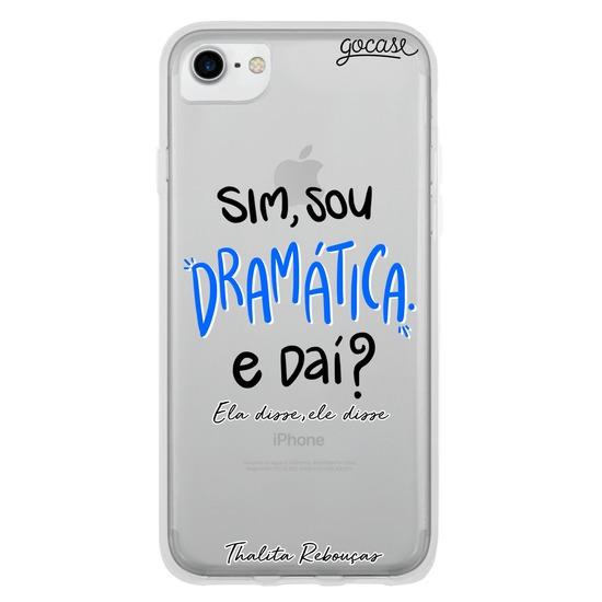 Capinha para celular Sou Dramática by Thalita Rebouças