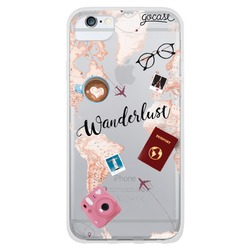 Wanderlust Map Phone Case