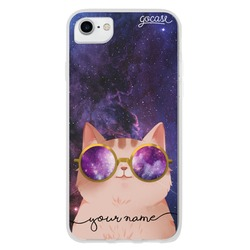 Galactic Cat Customizable Phone Case