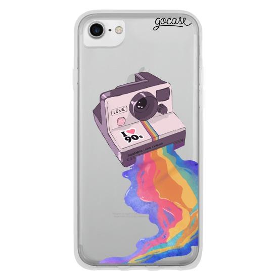 Capinha para celular Colorido Retrô