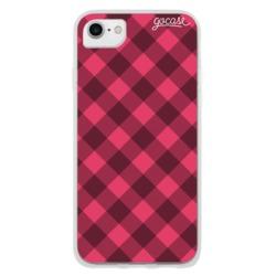 Red Plaid Phone Case