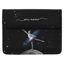 Case Clutch Notebook - Universo Bailarina Manuscrita