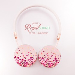 Royal Sound Headphones - Floating Hearts