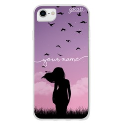 Birds to the Wind Customizable Phone Case