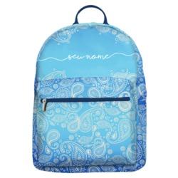 Mochila Gocase Bag - Paisley Azul Manuscrita
