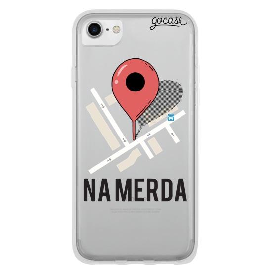 Capinha para celular Na merda - Gocase 3e314ea4e7e94