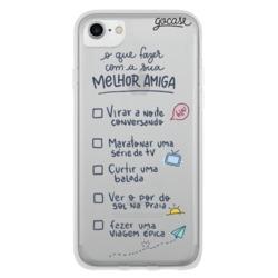 Capinha para celular Coisas de Melhor Amiga