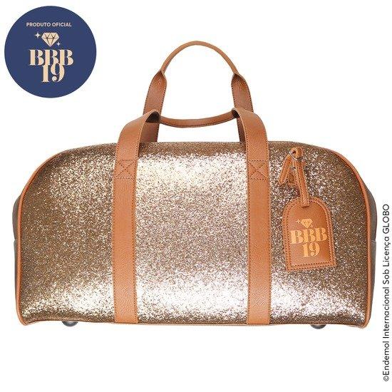 Mala de Viagem - BBB19 - Bronze Personalizada