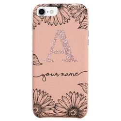 Royal Rose - Sunflowers Decor Glitter Phone Case