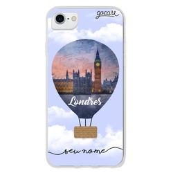 Capinha para celular Balão de Londres Personalizável
