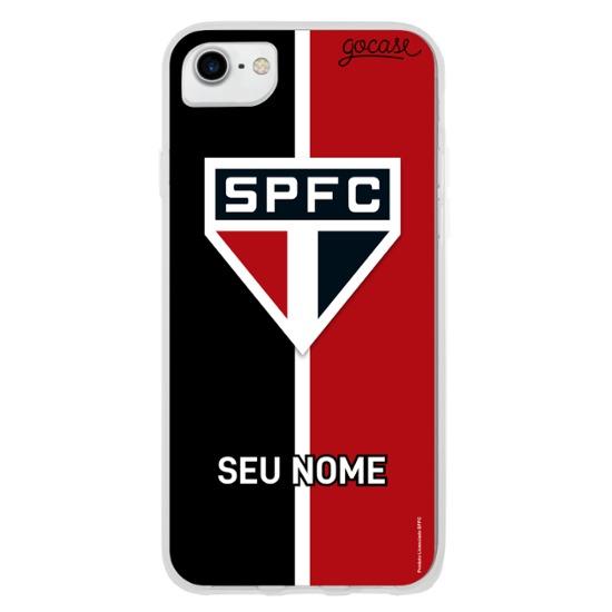 São Paulo - Tricolor Vertical Customizável
