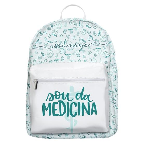 Mochila Gocase Bag - Sou da Medicina Manuscrita