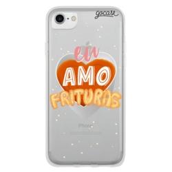 Capinha para celular Amo Frituras