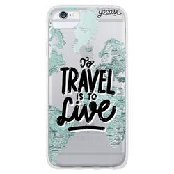 Travel is to live Phone Case