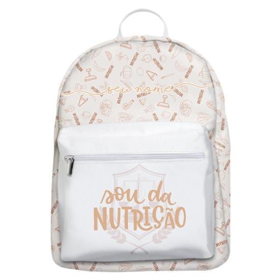 Mochila Gocase Bag - Sou Da Nutrição Manuscrita