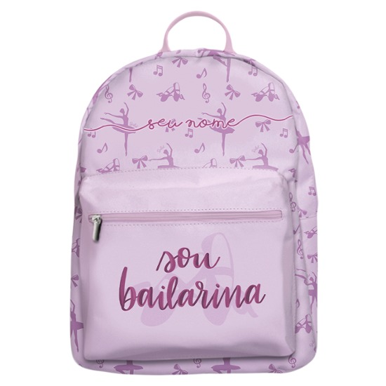 Mochila Gocase Bag - Sou Bailarina Manuscrita