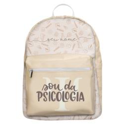 Mochila Gocase Bag - Sou Da Psicologia Manuscrita