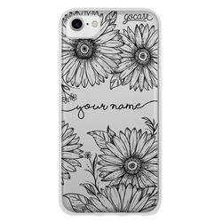 Decor Sunflowers Handwritten Phone Case