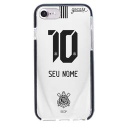Capinha para celular Anti-Impacto PRO - Corinthians - Uniforme 1