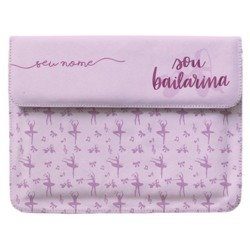 Case Clutch Notebook - Sou Bailarina Manuscrita