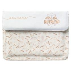 Capa para Notebook - Sou da Nutrição Manuscrita