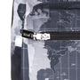 Mochila word map black detalhe 1x1