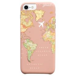 Royal Rose - World Map Blank Phone Case