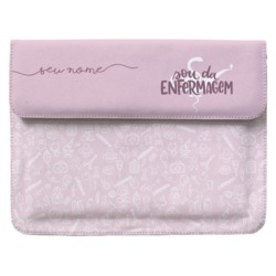 Case Clutch Notebook - Sou da Enfermagem Manuscrita