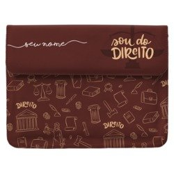 Case Clutch Notebook - Sou do Direito Manuscrita