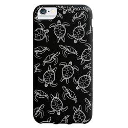 Black Case - White Turtles Phone Case