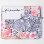 Clutch flamingo floral p11 1x1