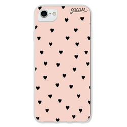 Black Hearts Rose Phone Case