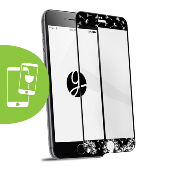 Hope Black Screen Protector - Tempered Glass