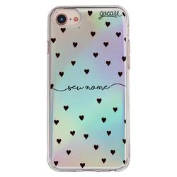Capinha para celular Capinha para Celular Holo -  Black Hearts