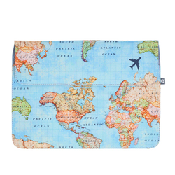 Laptop Sleeve - World Map