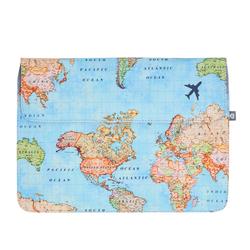 Laptop Sleeve - World Map