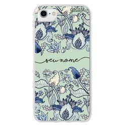 Capinha para celular Flores Lazuli Manuscrita