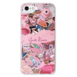 Pink Collage Personalizável Phone Case