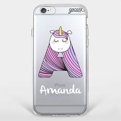 Unicorn Alphabet Case Telefono