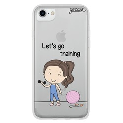 Let's Go Training Phone Case