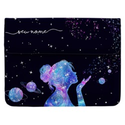 Capa para Notebook Personalizada - Poeira das Estrelas Manuscrita