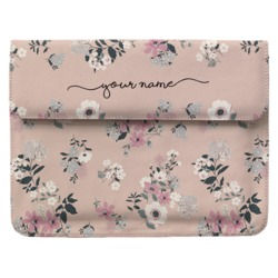 Laptop Sleeve - Lovely Floral Handwritten