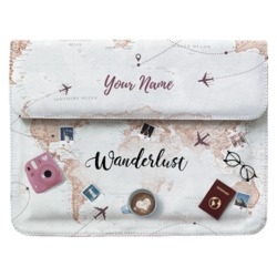 Laptop Sleeve - World Trip Customizable