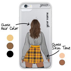 #OOTD - Tartan Skirt Phone Case