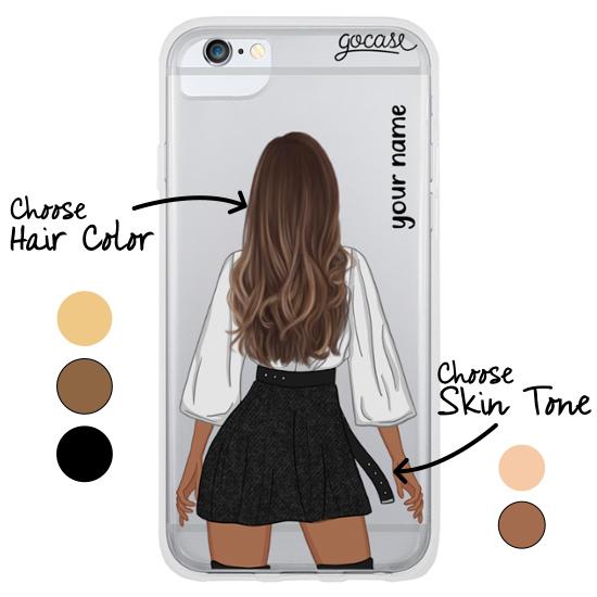#OOTD - Black Skirt Phone Case