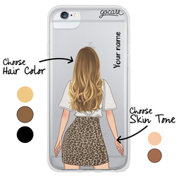 #OOTD - Animal Print Skirt Phone Case