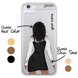 #OOTD - Black Dress Phone Case
