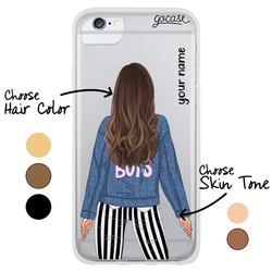 #OOTD - Denim Jacket Phone Case